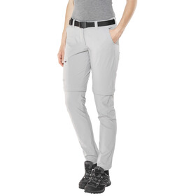Maier Sports Inara Slim Zip Off Pants Women Short sleet